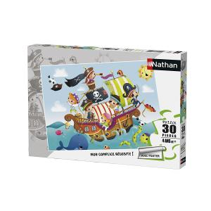 Nathan puzzles - 86349 - Puzzle 30 pièces - Les petits pirates (327852)