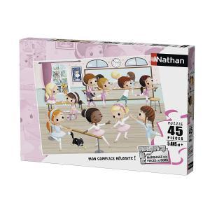 Nathan puzzles - 86466 - Puzzle 45 pièces - Nathan - Les petites ballerines (327854)