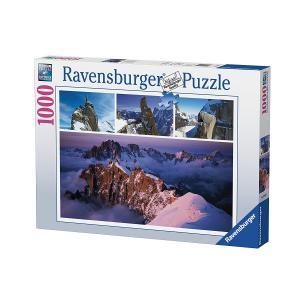 Ravensburger - 19671 - Puzzle 1000 pièces - Mont Blanc enneigé (327858)