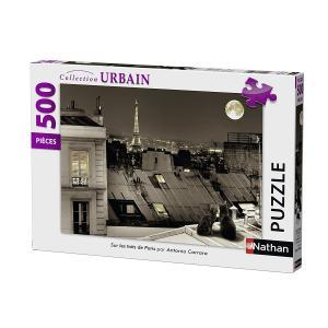 Nathan puzzles - 87106 - Puzzle 500 pièces - Sur les toits de Paris (327862)