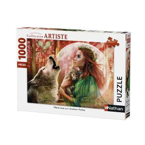 Nathan puzzles - 87468 - Puzzle 1000 pièces - Pleine lune (327866)