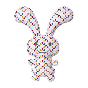 Trousselier - V1099 53 - Funny Bunny Doudou Hochet - T Multicolor 24Cm (327954)