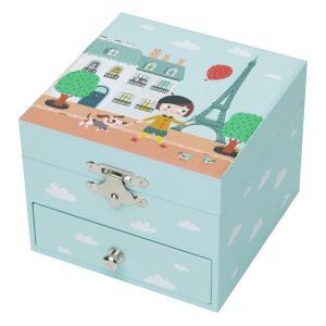 Trousselier - S20609 - Coffret Musique Cube Ninon Parisienne - Figurine Ninon (328010)