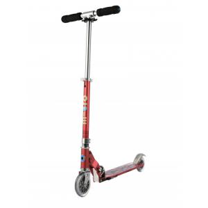 Micro - SA0136 - Trottinette Sprite Special Edition Framboise anodisé - Grip Floral (328392)
