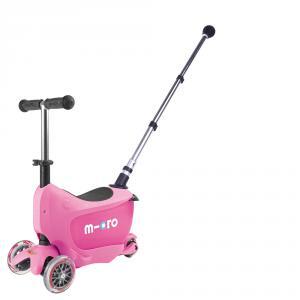 Micro - MMD033 - Trottinettes enfants Mini2go Deluxe Plus - Rose (328456)