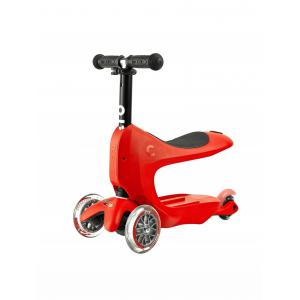 Micro - MMD032 - Trottinette Mini2go Deluxe Plus - Rouge (328458)