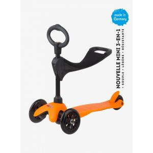 Micro - MM0155 - Trottinette Mini 3in1 Sporty - Orange (siège, barre en O, barre en T) (328506)
