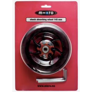 Micro - AC5008B - Roue AV/AR pour Speed+ - 145mm avec absorbeur de choc  (328588)