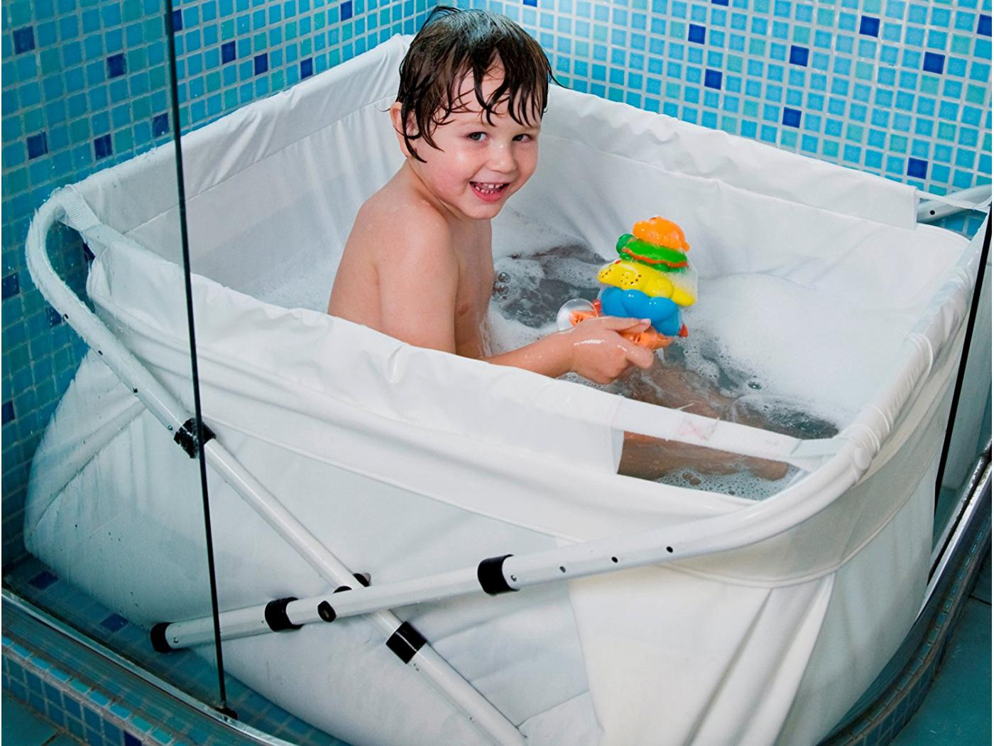 Bibabad Baignoire Pliable Bibabad Type 1270 Blanche 70x90 Cm