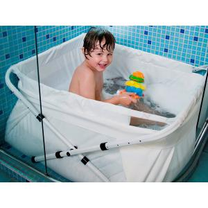 Bibabad - 34743 - Baignoire pliable Bibabad Type 1270 – blanche 70x90 cm (328634)