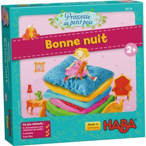 Haba - 302336 - Mes premiers jeux – Princesse au petit pois – Bonne nuit (329360)