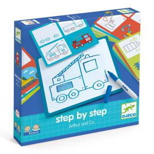 Djeco - DJ08321 - Eduludo -  Step by step Arthur and Co (330112)