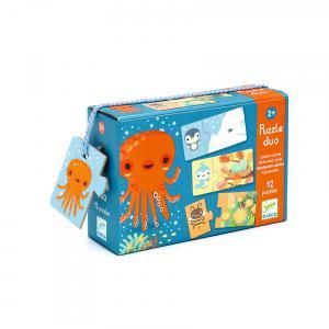 Djeco - DJ08156 - Puzzle duo cache-cache (330144)