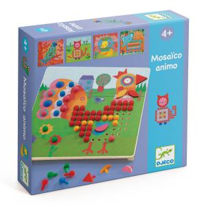 Djeco - DJ08137 - Jeux éducatifs -  Mosaïco animaux  * (330152)
