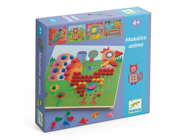 Jeux éducatifs - mosaïco animaux *