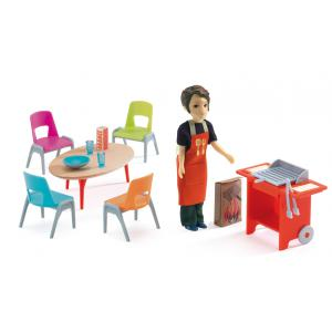Djeco - DJ07829 - Barbecue & accessoires (330178)
