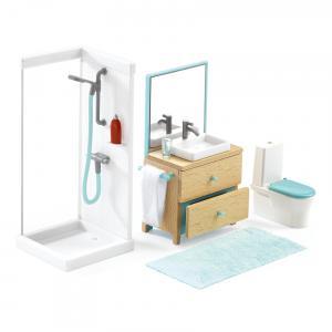 Djeco - DJ07824 - Maisons de poupées -  La salle de bain (330188)