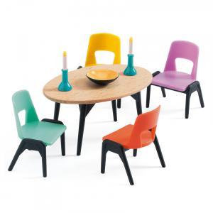 Djeco - DJ07820 - Maisons de poupées -  La salle à manger (330196)