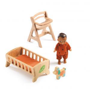 Djeco - DJ07815 - Maisons de poupées -  La chambre de Sweetie (330206)