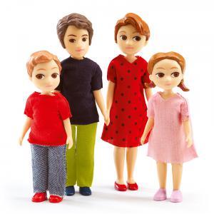 Djeco - DJ07810 - Maisons de poupées -  La famille de Thomas & Marion  * (330214)