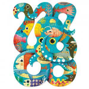 Djeco - DJ07651 - Puzz'Art -  Octopus - 350 pièces* (330254)