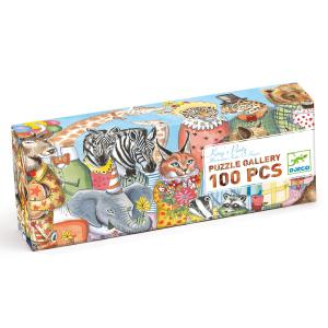 Djeco - DJ07639 - Puzzles Gallery -  King's Party - 100 pièces* (330258)