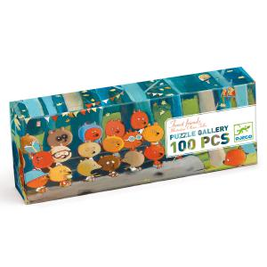 Djeco - DJ07636 - Puzzles Gallery -  Forest friends - 100 pièces (330262)