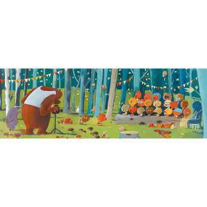 Djeco - DJ07636 - Puzzle Gallery Forest friends - 100 pièces (330262)