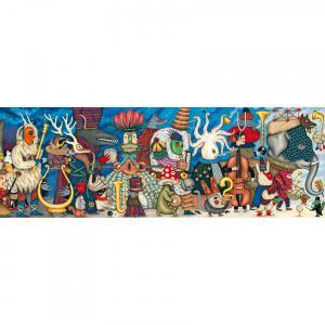 Djeco - DJ07626 - Puzzle Gallery Fantasy orchestra - 500 pièces (330264)