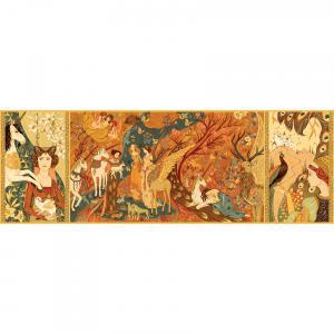 Djeco - DJ07624 - Puzzles Gallery -  Unicorn garden - 500 pièces * (330268)