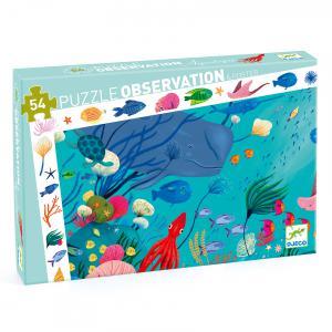 Djeco - DJ07562 - Puzzles observation -  Aquatique - 54 pièces (330286)