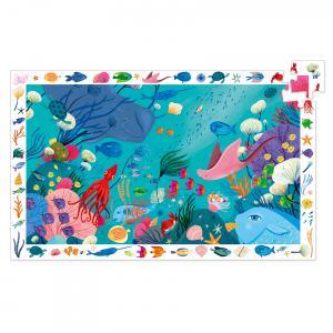 Djeco - DJ07562 - Puzzle observation Aquatique - 54 pièces (330286)