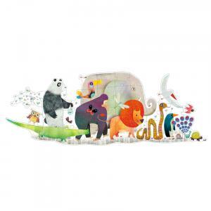 Djeco - DJ07171 - Puzzle géants La parade des animaux (330334)