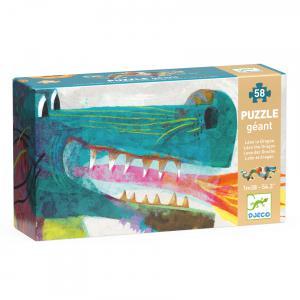 Djeco - DJ07170 - Puzzles géants -  Léon le dragon* (330336)