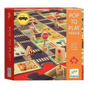 Djeco - DJ07161 - Puzzles géants la ville (330338)