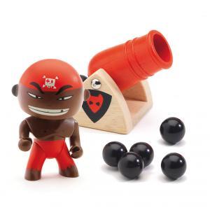 Djeco - DJ06831 - Pirate Djambo & Big boom  - Arty Toys (330378)