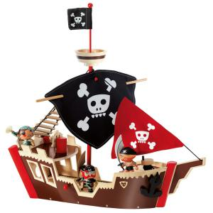 Djeco - DJ06830 - Pirate Ze pirat boat  - Arty Toys (330380)