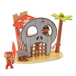 Djeco - DJ06829 - Arty Toys Pirates - Ze pirat island (330382)