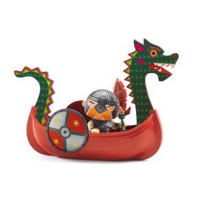 Djeco - DJ06818 - Pirate Drack & ze drakkar - Arty Toys (330386)