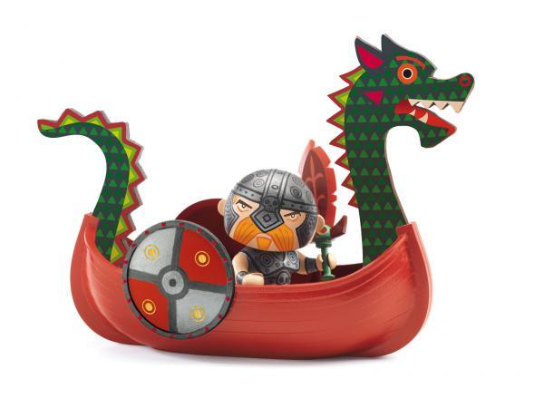Arty toys - pirates - drack et ze drakkar