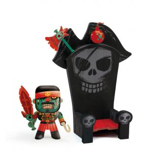 Djeco - DJ06813 - Pirate Kyle & Ze throne  - Arty Toys (330394)