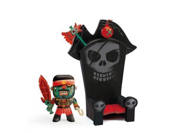 Arty toys - pirates - kyle et ze throne