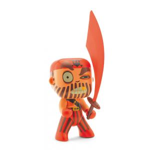 Djeco - DJ06800 - Arty Toys - Pirates -  Captain red (330406)