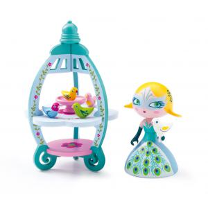 Djeco - DJ06763 - Arty Toys Princesses - Colomba & Ze birdhouse (330424)