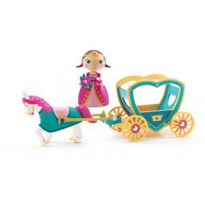 Djeco - DJ06760 - Arty Toys Princesses - Alycia & Ze caleche (330428)