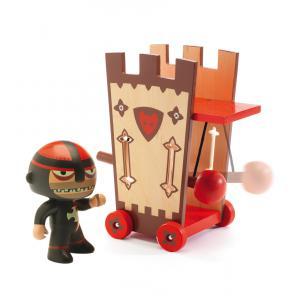 Djeco - DJ06736 - Arty toys Chevaliers - Darius & Ze attack tower (330450)