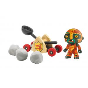 Djeco - DJ06731 - Chevalier Baldy & Big paf  - Arty Toys (330452)