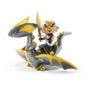 Djeco - DJ06725 - Arty Toys - Chevaliers -  Chrome & Inferno (330460)