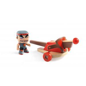 Djeco - DJ06723 - Chevalier Klute & Ze Arbalete  - Arty Toys (330464)
