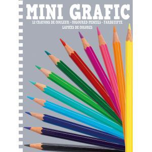 Djeco - DJ05395 - Mini Grafic -  12 crayons de couleur (330898)
